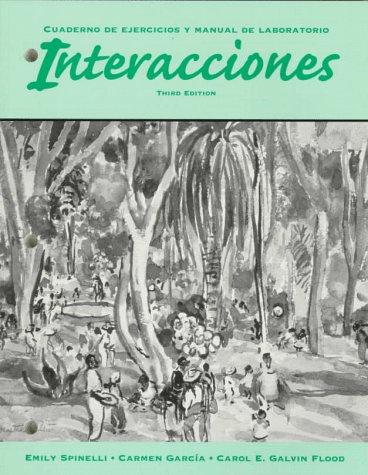 9780030251238: INTERACCIONES 3E-WORKBOOK/LM