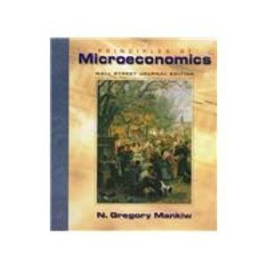 9780030252327: Principles of Microeconomics: Wall Street Journal Edition