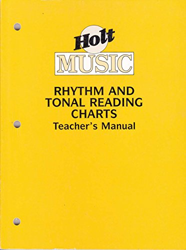 9780030253140: Rhythm and Tonal Reading Charts Teacher's Manual