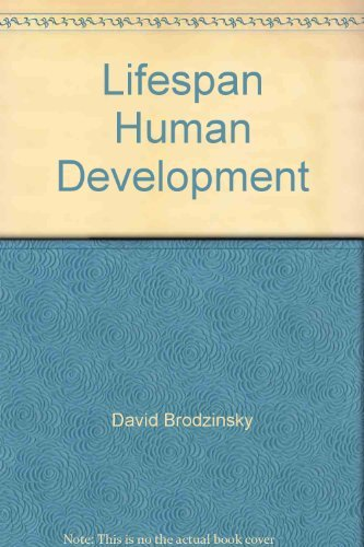 9780030253942: LlFESPAN HUMAN DEVELOPMENT