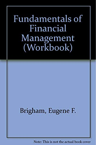 9780030254833: Fundamentals of Financial Management (Workbook)