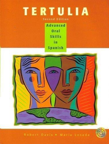 9780030255465: Tertulia: Advanced Oral Skills in Spanish  (Spanish Edition)