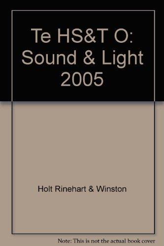 9780030255878: Holt Science and Technology, Course O: Sound & Light Teacher Edition