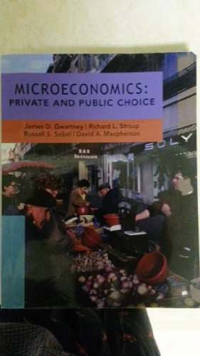 9780030256141: Microeconomics: Private and Public Choice