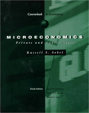 9780030256165: Microeconomics: Private and Public Choice