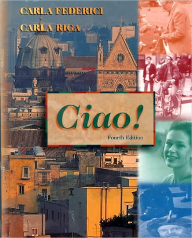 9780030257346: Ciao! Text/Audio CD pkg.
