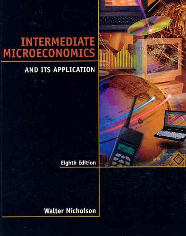 9780030259166: Intermediate Microeconomics and Its Application
