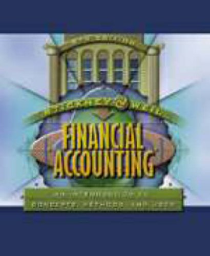 9780030259623: Financial Accounting: An Introduction to Concepts, Methods and Uses (Dryden Press Series in Accounting)