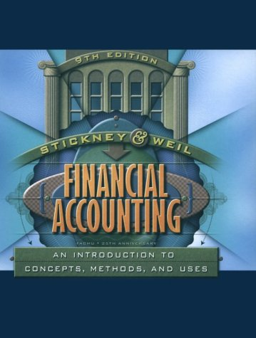 9780030259623: Financial Accounting: An Introduction to Concepts, Methods and Uses