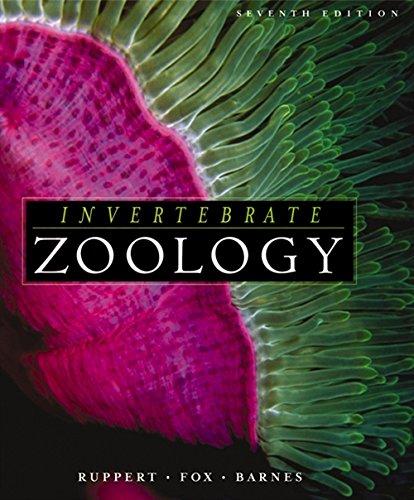 Invertebrate Zoology: A Functional Evolutionary Approach: Ruppert, Edward E.;