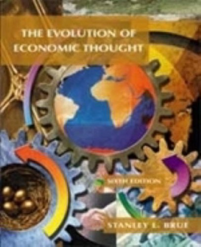 9780030259982: The Evolution of Economic Thought (Dryden Press Series in Economics)