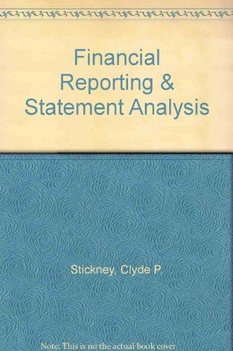 9780030261183: Financial Reporting & Statement Analysis