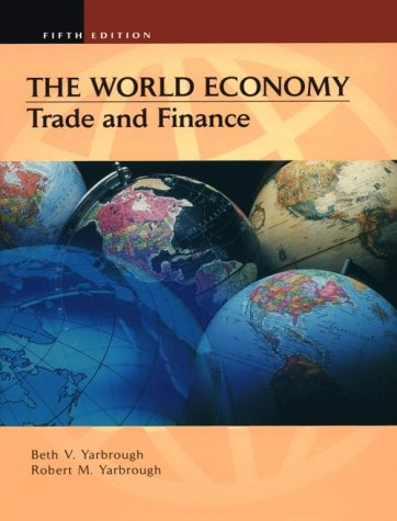 9780030261862: The World Economy: Trade and Finance