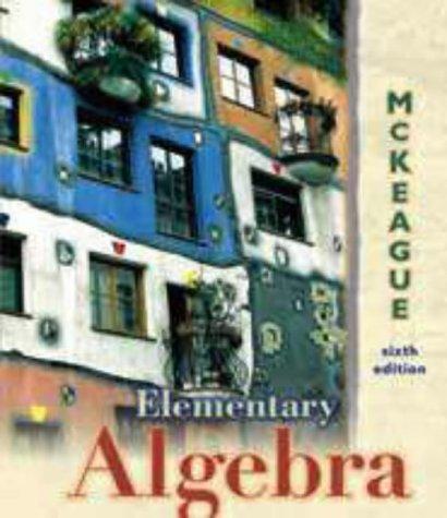 9780030262586: Elementary Algebra