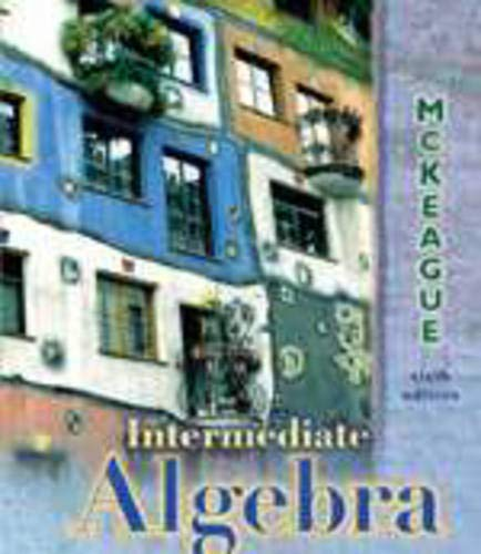 9780030262869: Intermediate Algebra