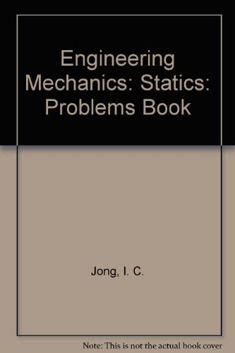 9780030263125: Student Problems Book to Accompany Engineering Mechanics: Statics