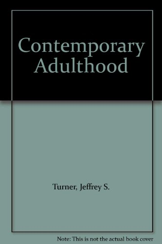 9780030263378: Contemporary Adulthood