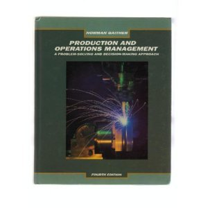 9780030263422: Gaither Production Operations Manmt 4e (The Dryden Press series in management)