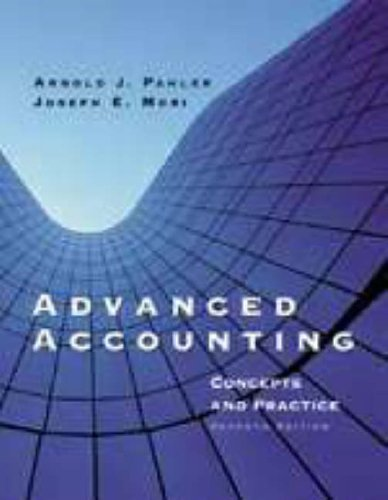 9780030263866: Advanced Accounting: Concepts and Practice, 7th (Dryden Press Series in Accounting)