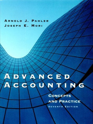 9780030263866: Advanced Accounting: Concepts and Practice (Dryden Press Series in Accounting)