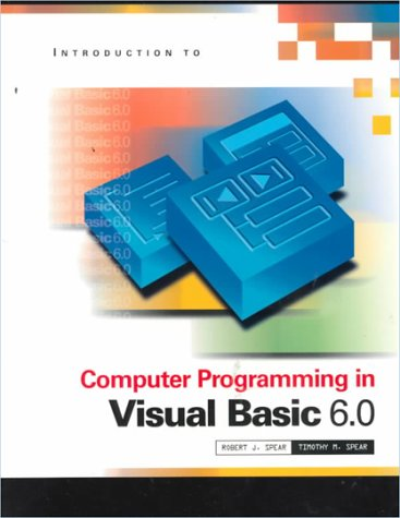 9780030263910: Programming In Visual Basic 6.0