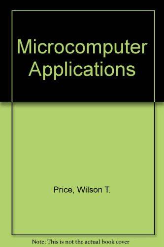 9780030263941: Microcomputer Applications