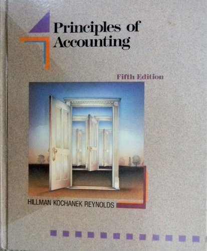 9780030264634: Principles of Accounting (Dryden Press series in accounting)