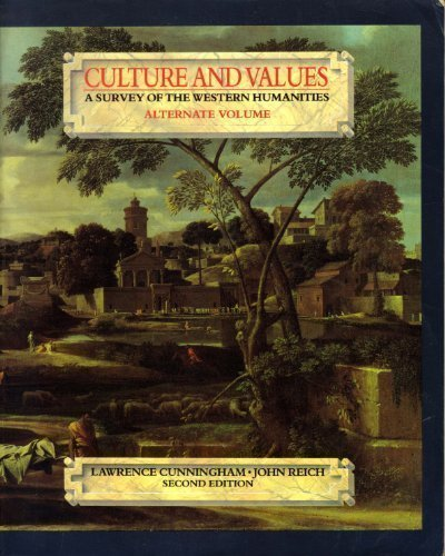9780030265938: CULTURE/VALUES ALT VOL 2E+