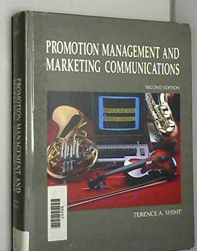 9780030266430: Promotion Management and Marketing Communications