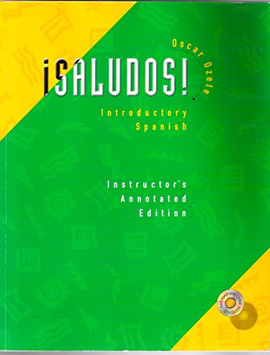 9780030267413: Saludos Introductory Spanish I