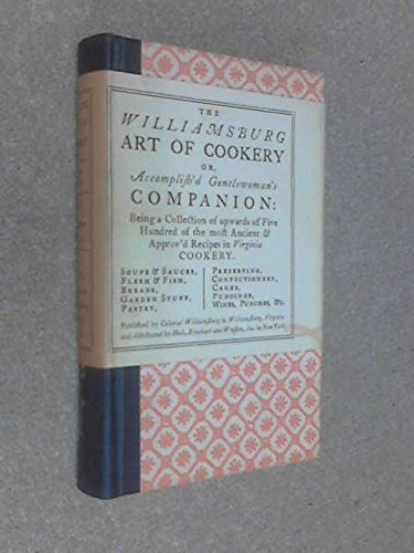 9780030267857: The Williamsburg Art of Cookery