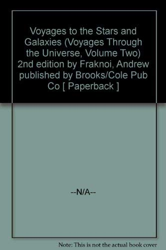 9780030267949: Voyages to the Stars and Galaxies (Voyages Through the Universe, Volume Two)