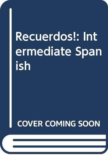 9780030267970: Recuerdos: Intermediate Spanish (English and Spanish Edition)