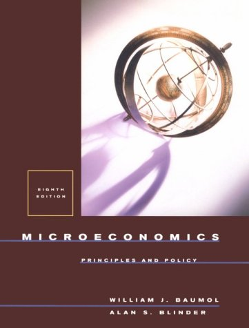 9780030268472: Microeconomics: Principles And Policy
