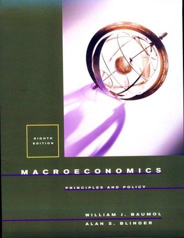 9780030268588: Macroeconomics: Principles And Policy