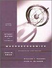 Macroeconomics: Principles And Policy (Study Guide): William J. Baumol,