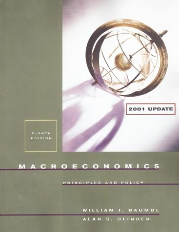 9780030268687: Macroeconomics: Principles and Policy (2001 Update Edition)