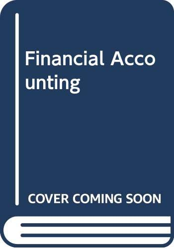 9780030269691: Student Solutions Manual to accompany Financial Accounting, 9e