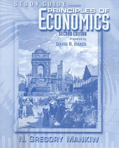 9780030270185: Principles Of Economics Study Guide