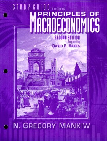 9780030270192: Principles of Macroeconomics (Study Guide)