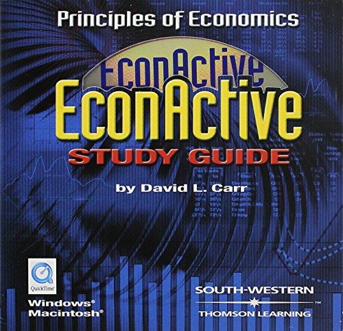 9780030270222: EconActive Student CD-ROM