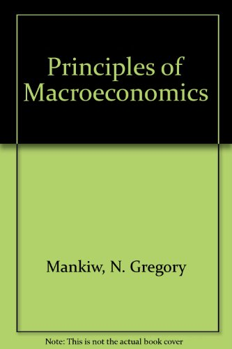 9780030271489: Principles of Macroeconomics: Wall Street Journal Edition