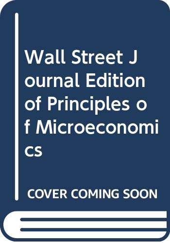 9780030271496: Principles of Microeconomics
