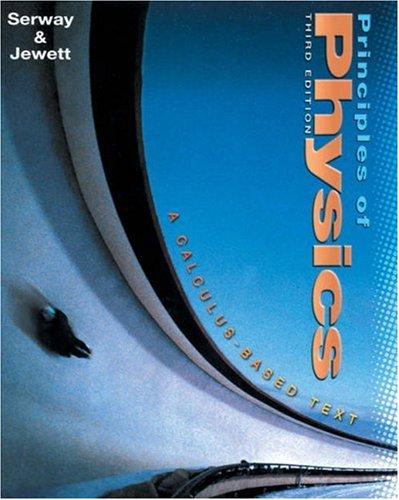 9780030271571: Principles of Physics (Non-InfoTrac Version)