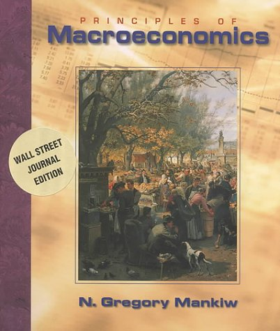9780030272011: Principles of Macroeconomics