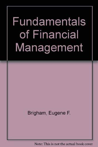 9780030272639: Fundamentals of Financial Management