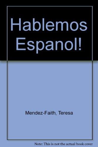 9780030273162: Hablemos Espanol!