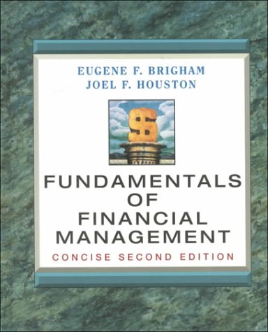 9780030273599: Fundamentals of Financial Management