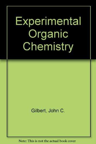 9780030273698: Experimental Organic Chemistry