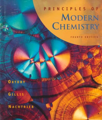 9780030273926: Principles of Modern Chemistry